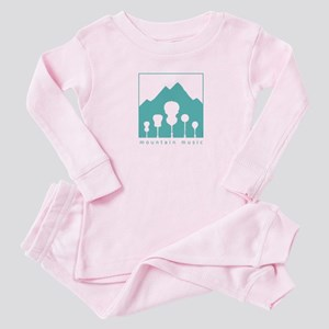 mountain music Baby Pajamas