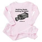 Nothing Beats Getting Blown! Baby Pajamas