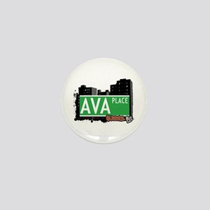 AVA PLACE, QUEENS, NYC Mini Button