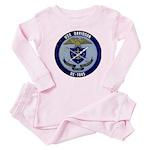 USS DAVIDSON Baby Pink Pajamas