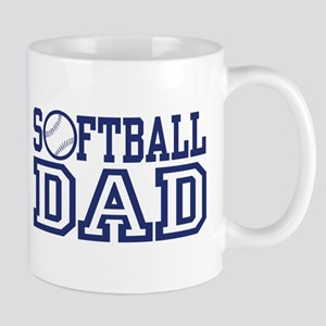 Softball Dad Mug