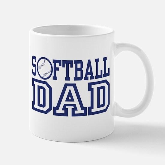 Softball Dad Mug