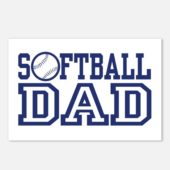 Softball Dad Postcards (Package of 8)