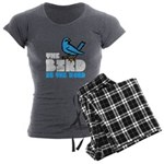 The Bird is the Word Women's Charcoal Pajamas