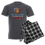Out of my way! Men's Charcoal Pajamas