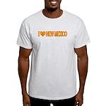 I Love New Mexico Light T-Shirt
