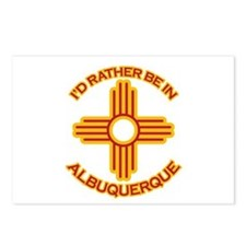 I'd Rather Be In Albuquerque Postcards (Package of