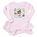 A Masonic gift to a father Mason Baby Pajamas