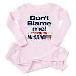 Don't Blame Me Baby Pajamas