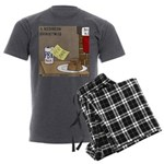 Redneck Christmas Men's Charcoal Pajamas