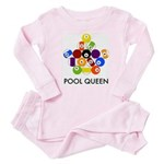 Pool Queen Baby Pajamas