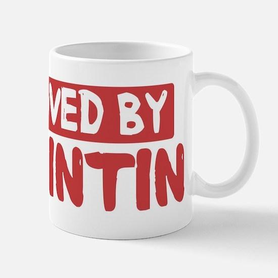 Loved by Quintin Mug