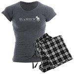 BSL is NEVER OK Women's Charcoal Pajamas