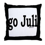 go Juli Throw Pillow