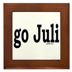 go Juli Framed Tile