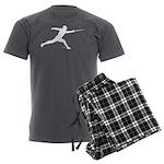 Lunge Men's Charcoal Pajamas