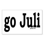 go Juli Rectangle Sticker
