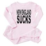 newenglandsucksblk Baby Pajamas