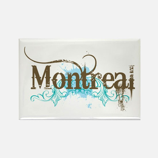Montreal Rectangle Magnet