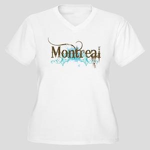 Montreal Women's Plus Size V-Neck T-Shirt