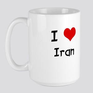 I LOVE IRAN Large Mug