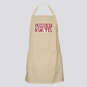 Loved by Kurtis BBQ Apron