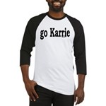 go Karrie Baseball Jersey