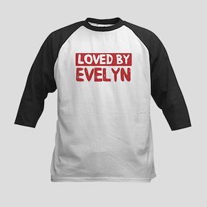 Loved by Evelyn Kids Baseball Jersey