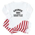 SEATTLE 1991 GRUNGE Baby Pajamas