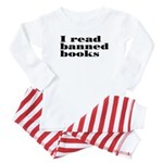 I Read Banned Books Baby Pajamas