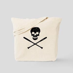 Skull & Bats Tote Bag