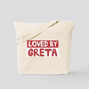Loved by Greta Tote Bag