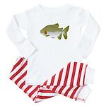 Pacu fish Baby Pajamas