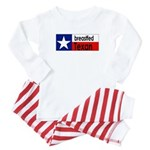 Breastfed Texan Baby Pajamas