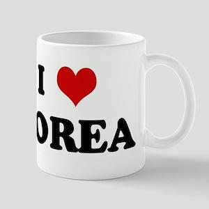 I Love KOREA Mug