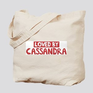Loved by Cassandra Tote Bag