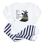 Conductor Baby Pajamas