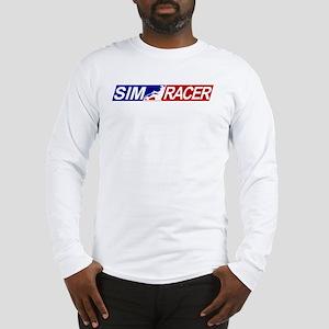 SimRacerLogo Long Sleeve T-Shirt