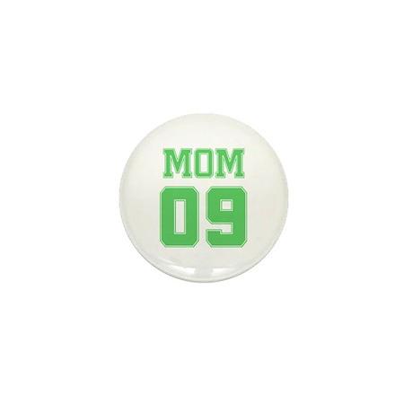 Green Mom 09 Mini Button (10 pack)