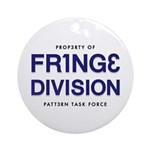 FRING3 DIVI5ION Ornament (Round)