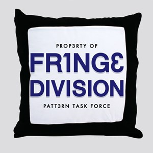FRING3 DIVI5ION Throw Pillow