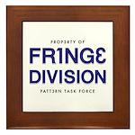 FRING3 DIVI5ION Framed Tile