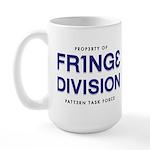FRING3 DIVI5ION Large Mug