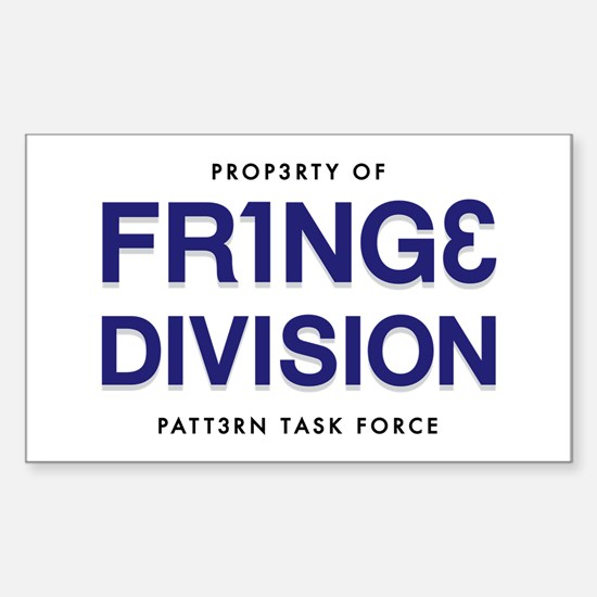 FRING3 DIVI5ION Rectangle Decal