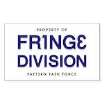 FRING3 DIVI5ION Rectangle Sticker 10 pk)