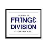FRING3 DIVI5ION Framed Panel Print