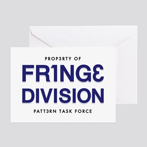 FRING3 DIVI5ION Greeting Cards (Pk of 20)