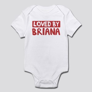 Loved by Briana Infant Bodysuit