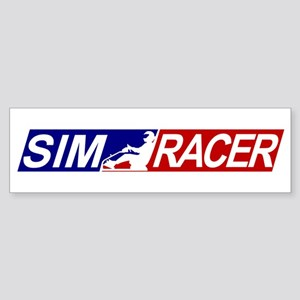 SimRacerLogo Bumper Sticker