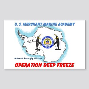 OPERATION DEEP FREEZE Rectangle Sticker